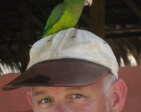 jim with bird