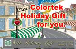 Colortek Holiday Gift
